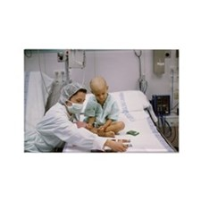 ays cards in hospital - Rectangle Magnet (10 pk)