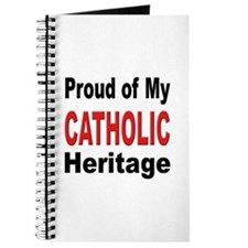 Proud Catholic Heritage Journal