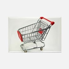 Shopping trolley - Rectangle Magnet (10 pk)