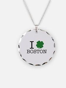 I Shamrock Boston Necklace