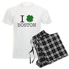 I Shamrock Boston Pajamas