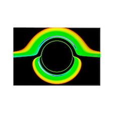 Black hole model - Rectangle Magnet (10 pk)