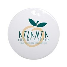 """You're a Peach"" Ornament/Keepsake"