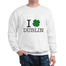 I Shamrock Dublin Sweatshirt