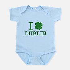 I Shamrock Dublin Infant Bodysuit