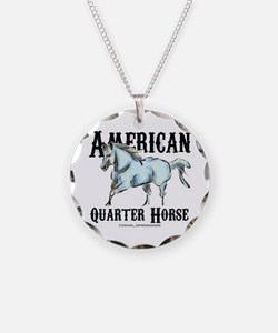 American Quarter Horse Necklace