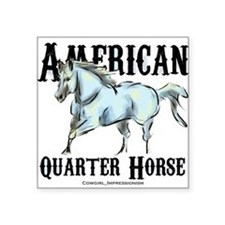 American Quarter Horse Sticker