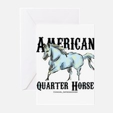 American Quarter Horse Greeting Cards (Pk of 10)
