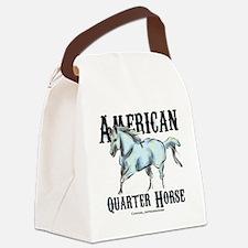 American Quarter Horse Canvas Lunch Bag
