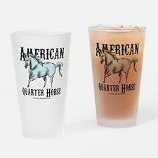 American Quarter Horse Drinking Glass