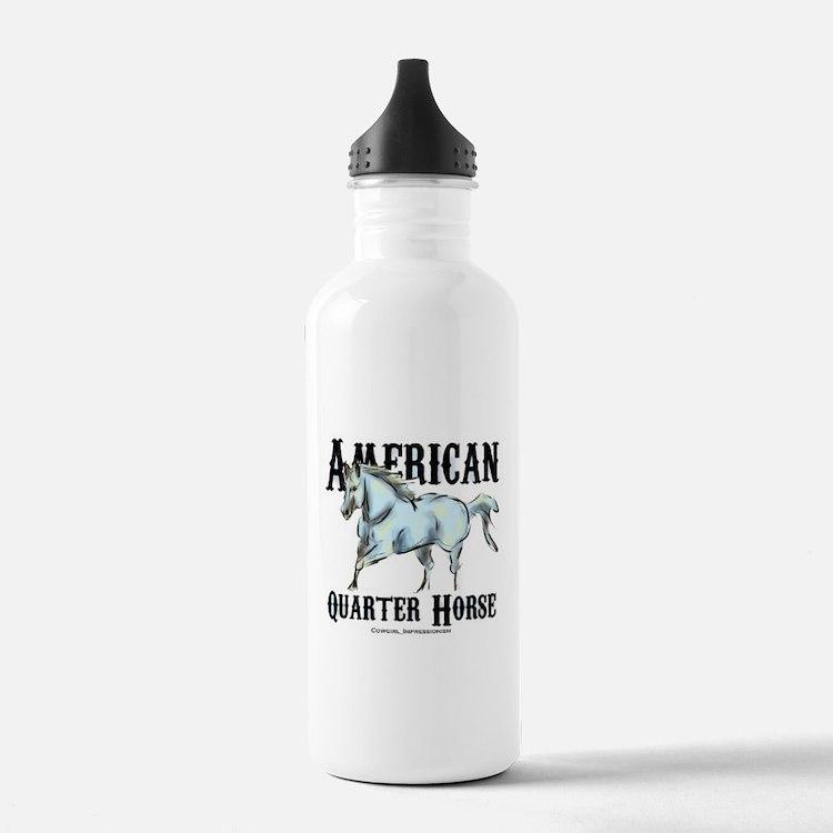 Water Bottle Quarter Prank: American Quarter Horse Water Bottles