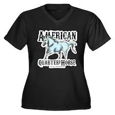 American Quarter Horse Plus Size T-Shirt