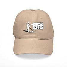Whats SUP Baseball Baseball Cap