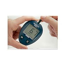 Blood glucose meter - Rectangle Magnet (10 pk)