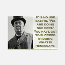 It Is No Use Saying - Churchill Magnets