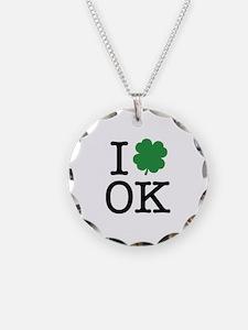 I Shamrock OK Necklace