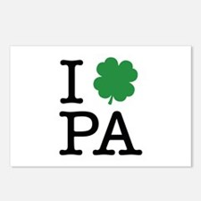 I Shamrock PA Postcards (Package of 8)