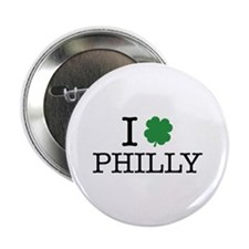 "I Shamrock Philly 2.25"" Button"