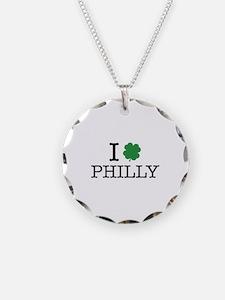 I Shamrock Philly Necklace