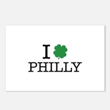 I Shamrock Philly Postcards (Package of 8)