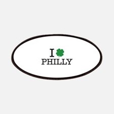 I Shamrock Philly Patches