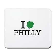 I Shamrock Philly Mousepad