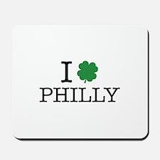 I Shamrock Philly Mousepad