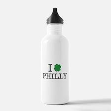 I Shamrock Philly Water Bottle