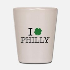 I Shamrock Philly Shot Glass