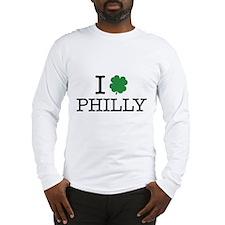 I Shamrock Philly Long Sleeve T-Shirt