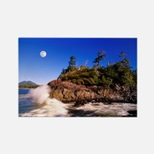 Moon and tide - Rectangle Magnet (10 pk)