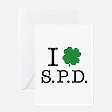 I Shamrock S.P.D. Greeting Card