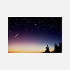 Perseid meteor trail - Rectangle Magnet (10 pk)