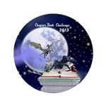 """Chapter Book Challenge 2013 3.5"""" Button (10"""