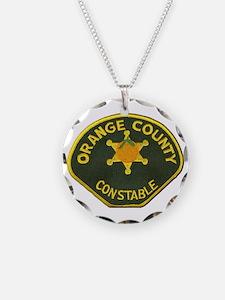 Orange County Constable Necklace