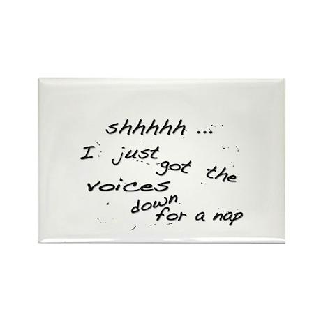 Shhh-Voices Magnet