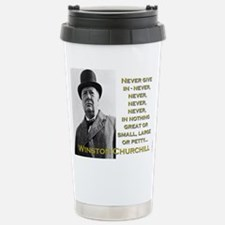 Never Give In - Churchill Mugs