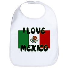 I LOVE MEXICO SHIRT TEE SHIRT Bib