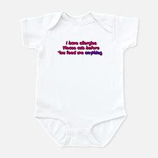 Allergies-Girl Infant Bodysuit