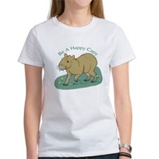 CaplinCartoon01_HappyCapy T-Shirt