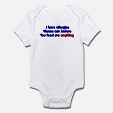 Allergies-Boy Infant Bodysuit