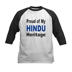 Proud Hindu Heritage Kids Baseball Jersey