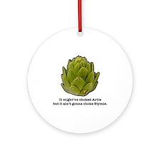 Stymie Artichoke Ornament (Round)
