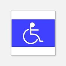 """Disabled"" Rectangle Sticker"