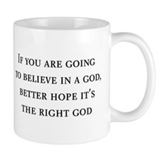 The Right God Mug