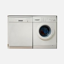 washing machine - Rectangle Magnet (10 pk)