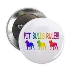 """Pit Bull 2.25"""" Button (10 pack)"""