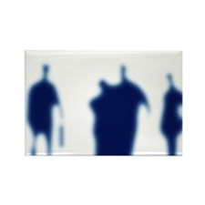Business people - Rectangle Magnet (10 pk)