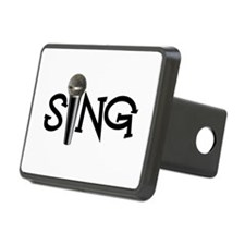 Sing with Microphone Hitch Cover