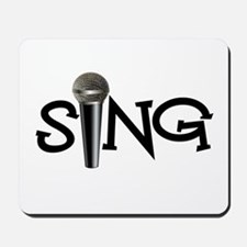 Sing with Microphone Mousepad